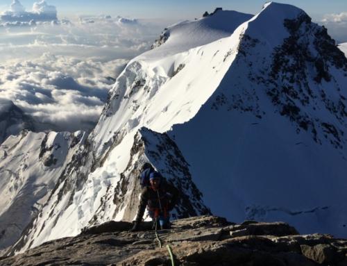 Monte-Rosa mit Dufourspitze