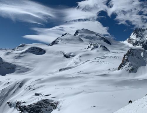 """Strahlhorn 4190 """"grosser Ski 4000er"""""""